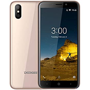 DOOGEE X50 Móviles Libres, (Android GO) Android 8.1 Smartphones ...
