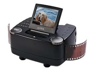 Scanner à diapositives et négatifs 35mm DB-Tech– convertisseur de négatifs en images numériques 10 mégapixels – avec écran LCD 6 cm et sortie TV