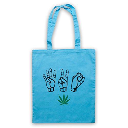 420 Buste Di Foglie Di Cannabis Coltivate Con La Barretta Della Cultura In Vaso