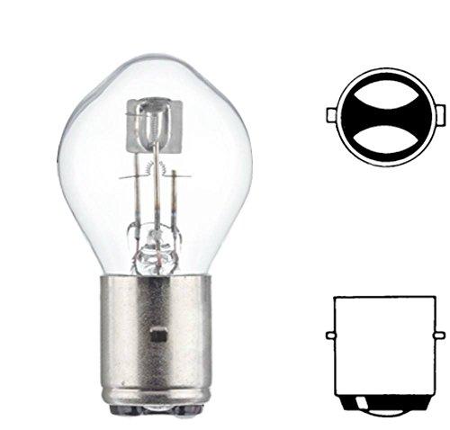 Preisvergleich Produktbild HELLA 8GD 002 084-131 Glühlampe Standard, Scheinwerferlampe für Hauptscheinwerfer, S2, 35 W, 12V