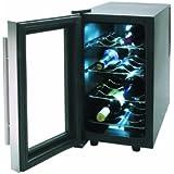 Lacor Line 69078 - Armario refrigerador, 8 botellas, inoxidable, 70 W, 25 litros