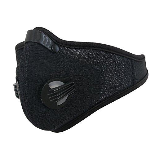 gzq Staub Maske Mesh atmungsaktiv Anti-Staub winddicht Maske Unisex für Radfahren Camping Laufen Klettern Skifahren Walking Motorrad Snowboard (Mütze Mesh-gesicht Schild)