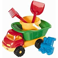 Androni 6041–35cm Stuffed Toy Dumper Truck with Bucket Set
