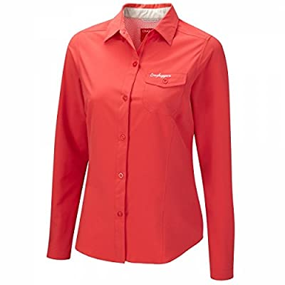 Craghoppers Damen Funktionshemd NosilifeStretchLangarm Bluse von Craghoppers - Outdoor Shop
