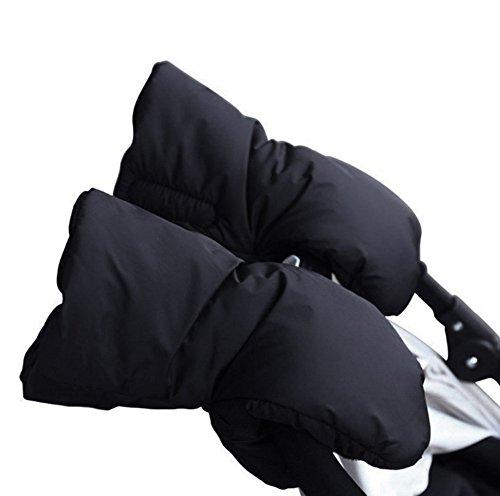 1par de Guantes para sillas de paseo, Beauty DIY Mart Manoplas Guantes de Forro Caliente Impermeable para Proteger Manos en Invierno