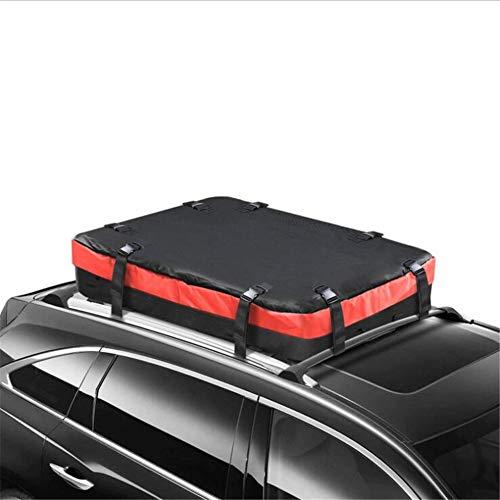 Sac de transporteur de toit sur le toit - 11 pieds cubes - Porte-bagages supérieur pour voiture, robuste et imperméable, pour un rangement supplémentaire sur le toit