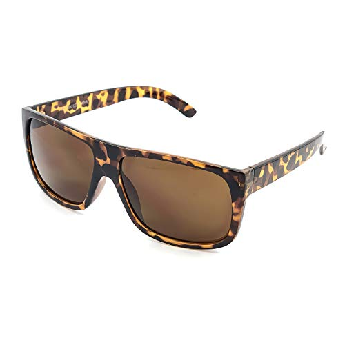Kiss Sonnenbrille stil JACOBS Flat Top - mann frau unisex VINTAGE super cool - HAVANNA