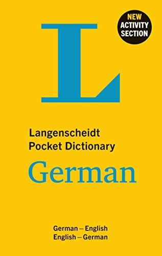 Dictionary German: Deutsch-Englisch/Englisch-Deutsch (Langenscheidt Pocket Dictionaries) ()