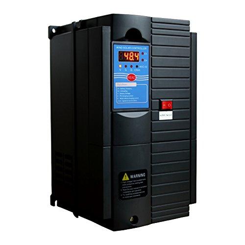 Controlador de Carga Híbrido de Viento y Energía Solar de 1000 W 48 V con Carga de Bomba - para...