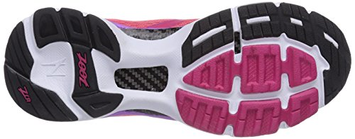 Zoot W Carlsbad, Chaussures de running femme Multicolore (Punch/Plum/White)