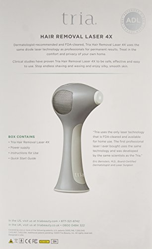 Tria Beauty Graphite Laser 4X Hair Removal