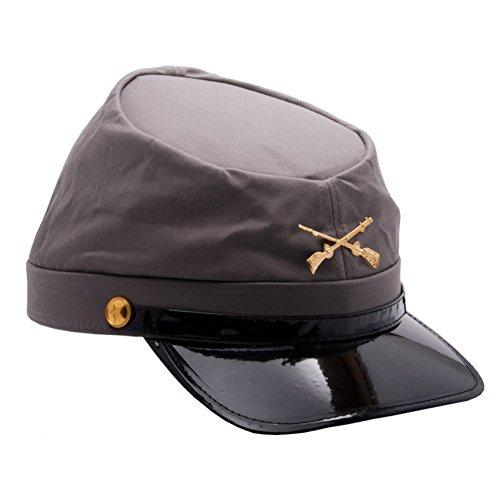MyPartyShirt Gorra soldado confederado ejército Guerra