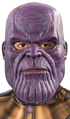 Avengers, Infinity Wars - Máscara de Thanos para niños, infantil Talla única (Rubie's 300086)