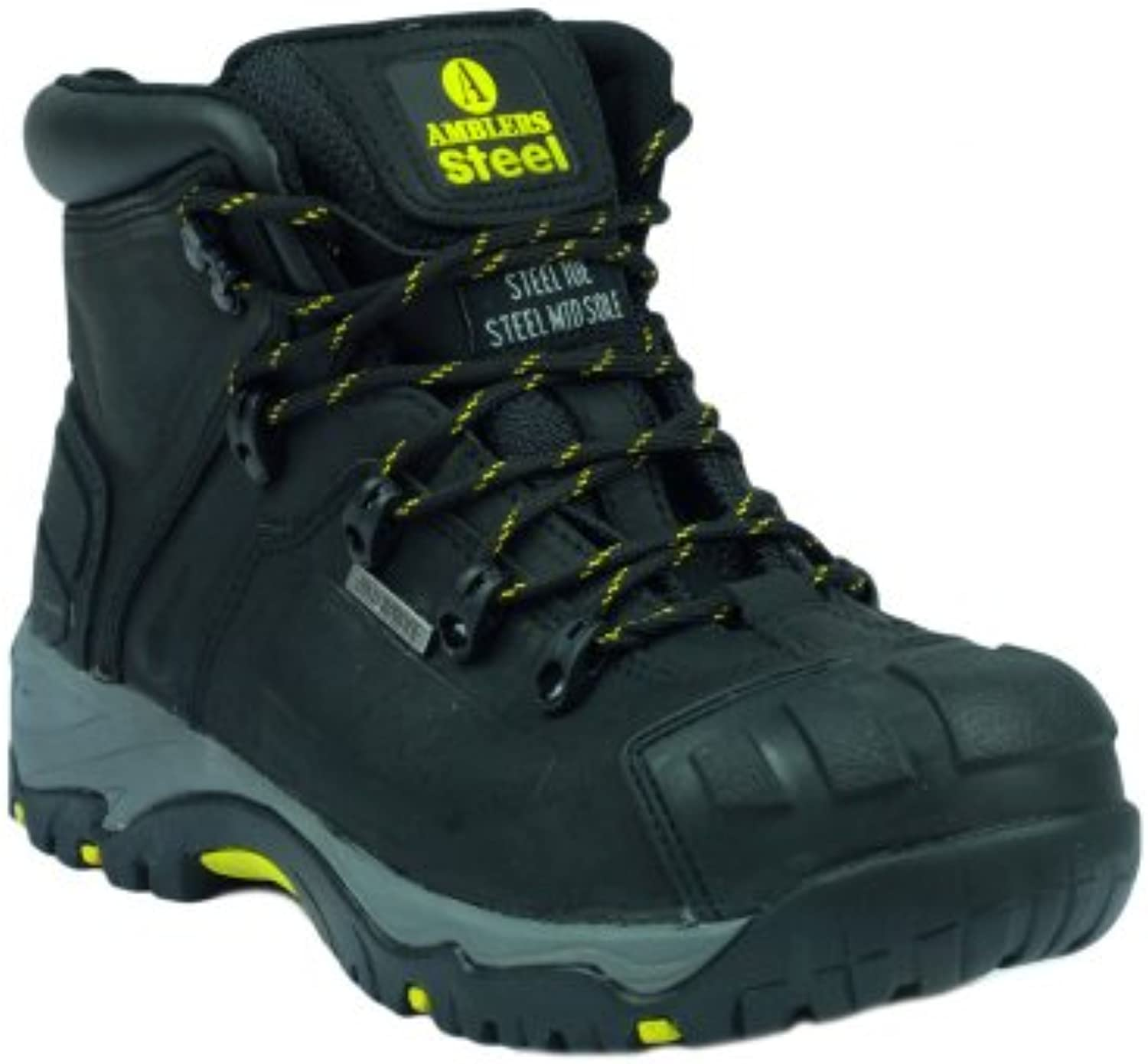 Amblers Safety FS32 Safety Boots Black Size 3