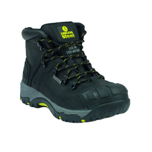 Amblers Safety FS32 - Scarponcini Antinfortunistici - Uomo Nero