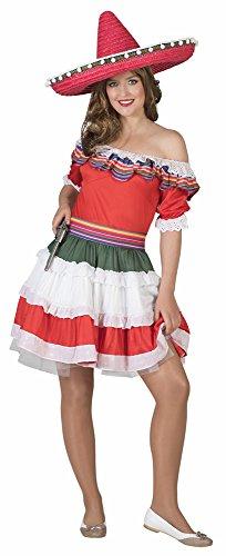Mexikanerin Kostüm Senorita Bonita Gr. 44 46