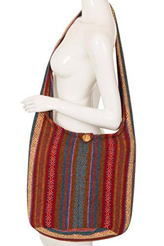 ThaiUK, Borsa a spalla donna Multicolore #82 #78