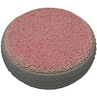 Bimsstein Massagestein Hornhautentfernung Fussmassage Fußpflege rund 80mm rosa (0038) preisvergleich bei billige-tabletten.eu