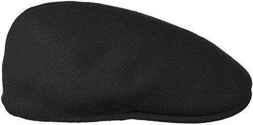 Kangol Herren Damen Mütze Schirmmütze Flatcap Original 504 | Schlägermütze mit Kultstatus 0258BC Schirmmütze Mütze (XXL/62-63 - schwarz)