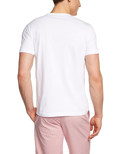 BOSS Green Herren T-Shirt Tee Weiß (White 100)