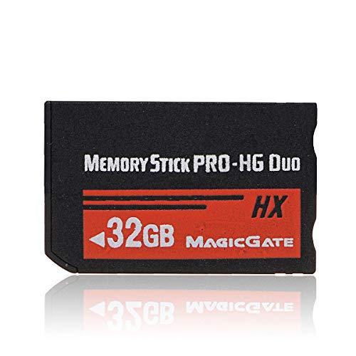 Nrpfell 32GB Tarjeta Memoria Ms Pro Duo HX Tarjeta