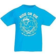 lepni.me T-Shirt per bambini Ride Or Die