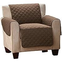 Furein - Funda cubre sillón, 170x170cm, reversible, protector, cubre sillón orejero, sofá tamaño 1 plaza, butaca, protege sillón relax, lavable