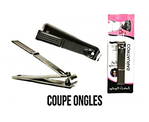 1 GRAND COUPE ONGLE GRIS MANUCURE PEDICURE