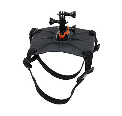 Unverzichtbares Zubehör für Ihre WiMiUS L1 Action Cam 4K   L2   Q1 und Q2 Action Kamera: DuraGadget Hundehalterung (Rücken)