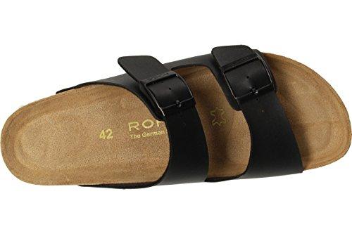 Rohde 5920 Grado Mules homme Tons de noir