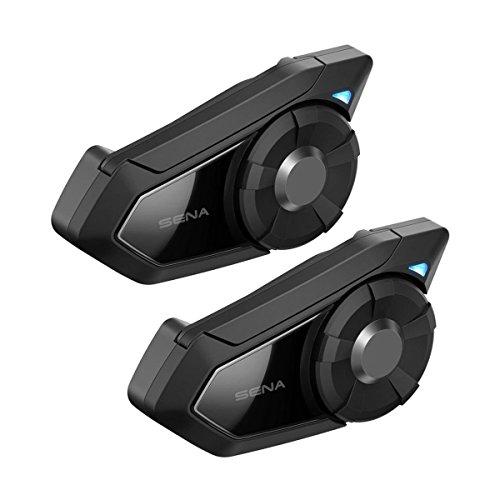 Sena 30K-01D 30K, Bluetooth-Kommunikationssystem für Motorräder mit Mesh Intercom, Dopplepack (Bluetooth-telefon-gegensprechanlage)
