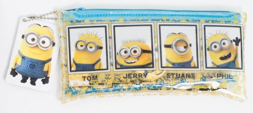 Image of Official Despicable Me Minions - Filled Pencil Case
