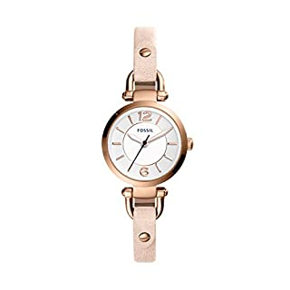 Fossil Reloj Analogico para Mujer de Cuarzo con Correa en Cuero ES4340 (B077Z9HHS5) | Amazon price tracker / tracking, Amazon price history charts, Amazon price watches, Amazon price drop alerts