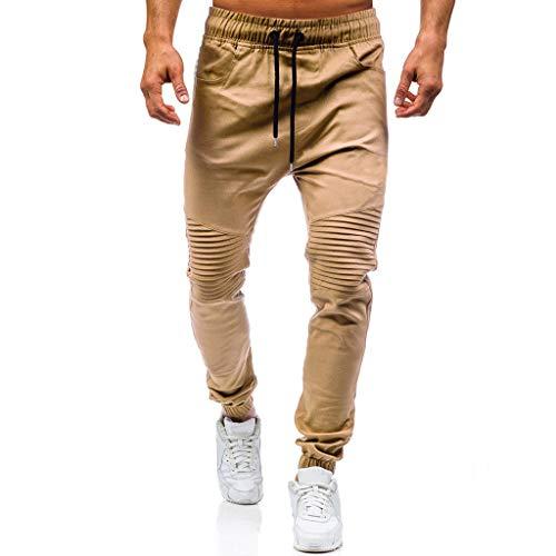JiaMeng Pantalones de Trabajo Estilo Cargo para Hombre Pantalones Largos de pantalón de Trabajo Multibolsillos sólidos al Aire Libre Ocasionales para Exteriores para Acampar Senderismo para Caminar