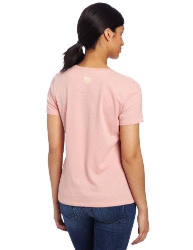 Life is Good Damen Bio-T-Shirt Libelle Rosa - Shell Pink