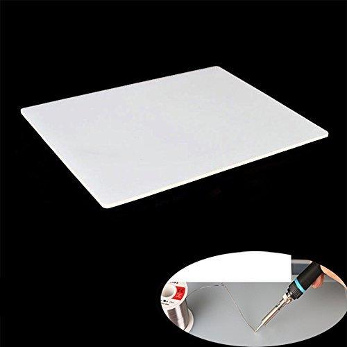 [1 Stück] Hitzebeständige Silikonmatte Hitzebeständige 100% Rutschfeste Silikonplatten...
