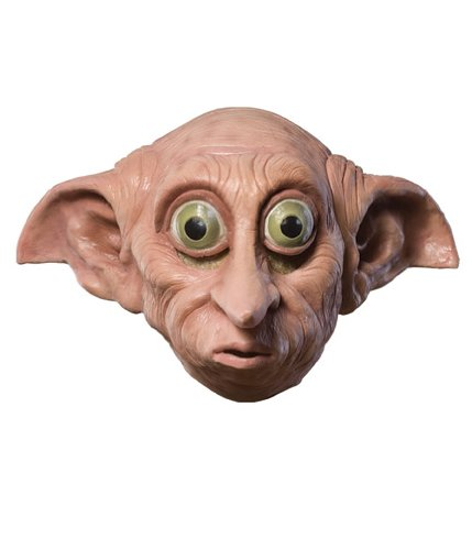 Rubie's Costume Co Harry Potter Dobby 3/4 Vinyl Child's Mask by (Potter Harry Kostüme Dobby)