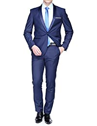 Leader Mode - Costume Nf132455 Smoking Chale Blue 5