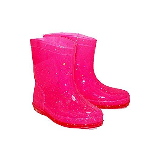 SendIt4Me Little Girls Sparkly Wellington Boots New