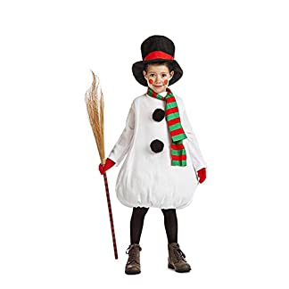 Car&Gus Disfraz de Muñeco de Nieve para niños