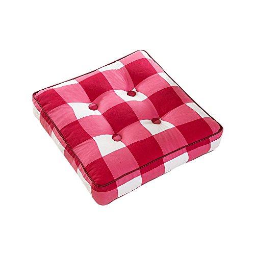 Zhi Jin épais doux galettes de coussin Bureau carré Booster galettes de chaise Pad pour chaises de salle à manger travail Canapé