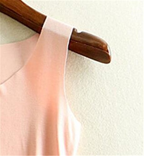 Aoliait Semplice Donne Camicetta V-Collo T-Shirt Donne Estivi Elegante Canotta Senza Maniche Camicetta Casual Comoda Tops Maglietta Pink1