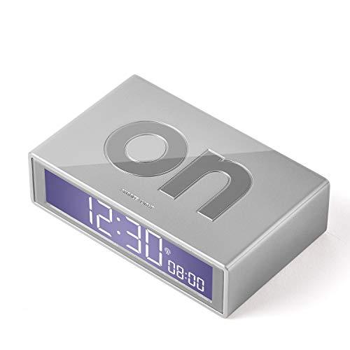 LEXON Flip RCC Despertador LCD Aluminio