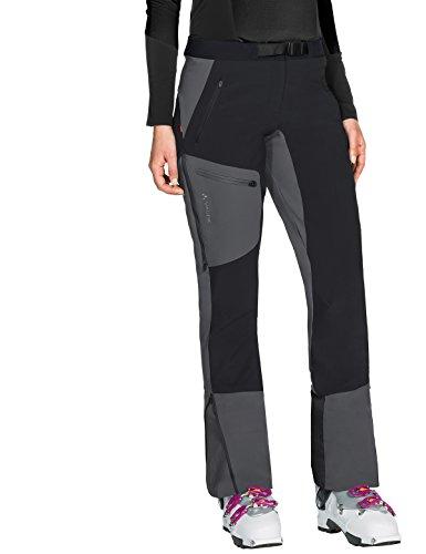 Vaude Damen Women's Badile Winter Pants Hose, Black, 38