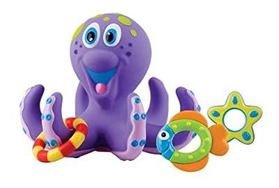 Nûby - Floating Octopus Jouet de Bain - Pieuvre Flottante - 18 Mois
