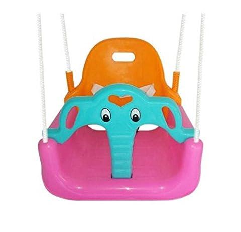 LD@Accueil Enfants Jouets de bande dessinée Swing Seat Infant Chair , pink