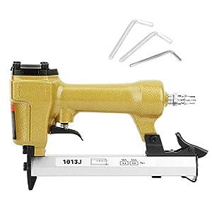 J tipo pistola de clavos neumática pistola de clavos neumática grapadora de aire herramienta para trabajar la madera