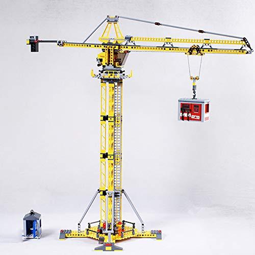 02069Technic Ladrillos grúa, gran diseño grúa, 778piezas construcción juguete
