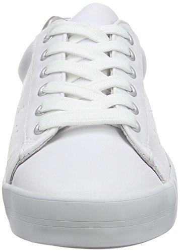 Unbekannt Damen Lace Up Low-top White (bianco)
