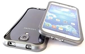 Exklusive-Cad Coque rigide en aluminium pour Samsung Galaxy S4 i9500 Titane